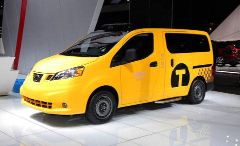 2014 Nissan Nv200 Taxi 2012 New York Auto Show