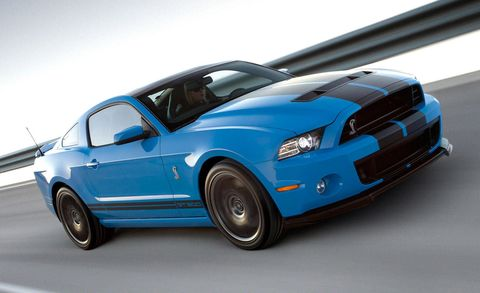 2013 Ford Shelby GT500 Launch Control Spins Wheels