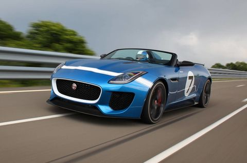 2013 Jaguar Project 7: First Drive