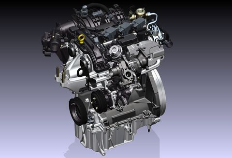 Ford's 1-Liter EcoBoost