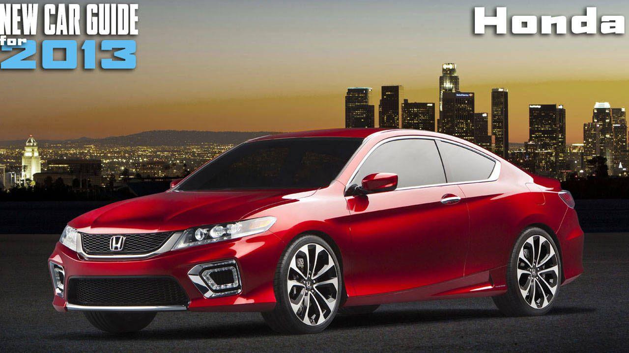 New Honda Models For 2013