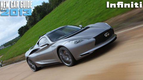New Infiniti Models for 2013