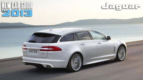 New Jaguar Models for 2013