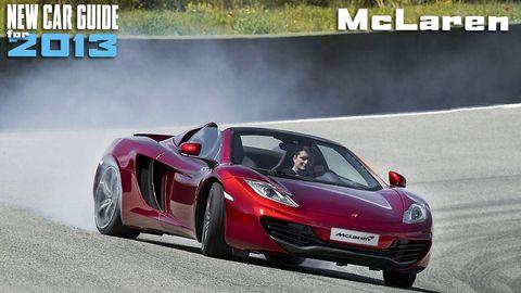 New McLaren Models for 2013