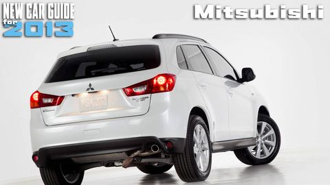 New Mitsubishi Models for 2013