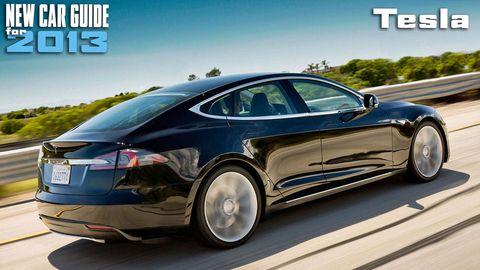 New Tesla Models for 2013
