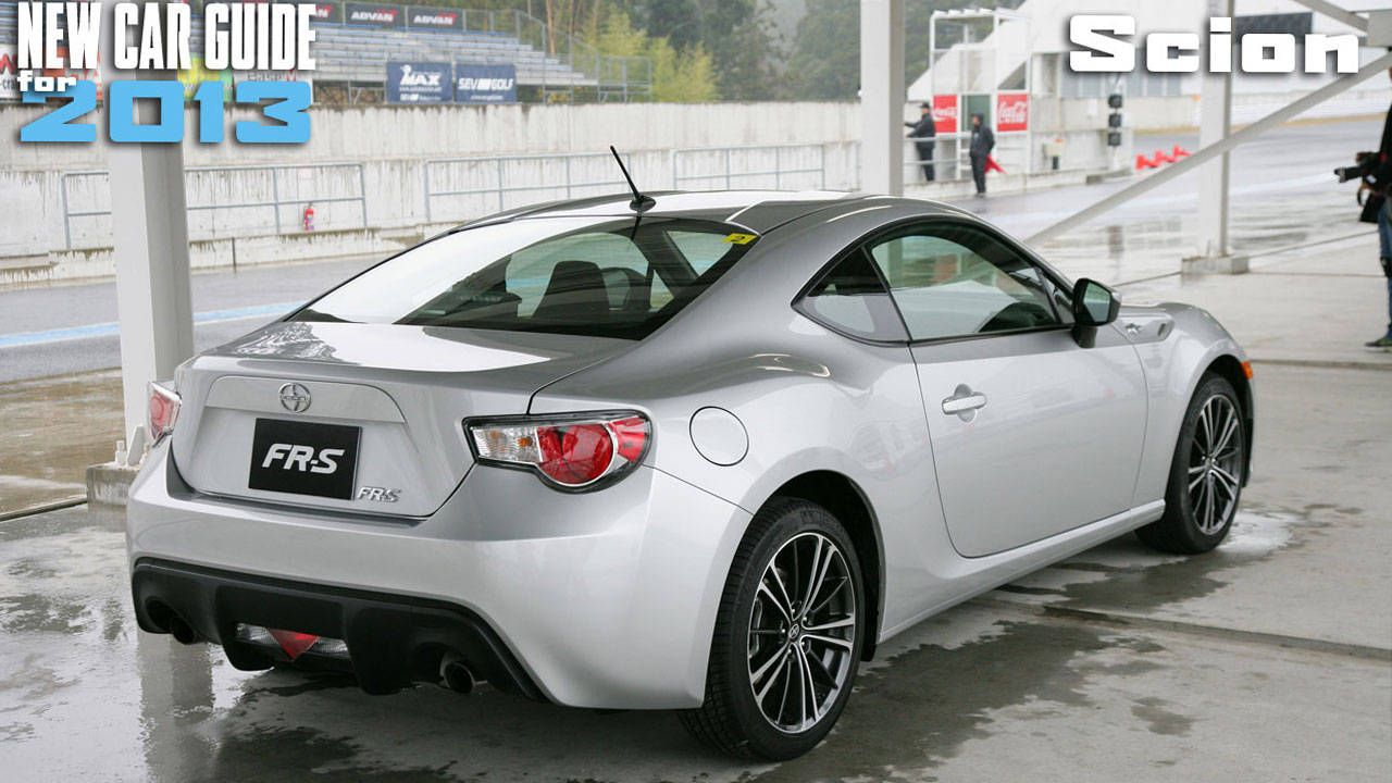 New Scion Models For 2013