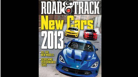 road   track september 2012 cover
