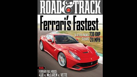 road  track october 2012 cover