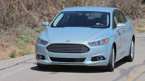 2013 Ford Fusion Review, Specs and Photos