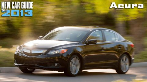 New Acura Models for 2013
