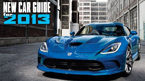 New Car Guide for 2013