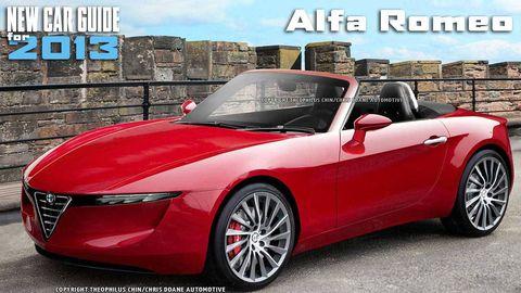 New Alfa Romeo Models for 2013