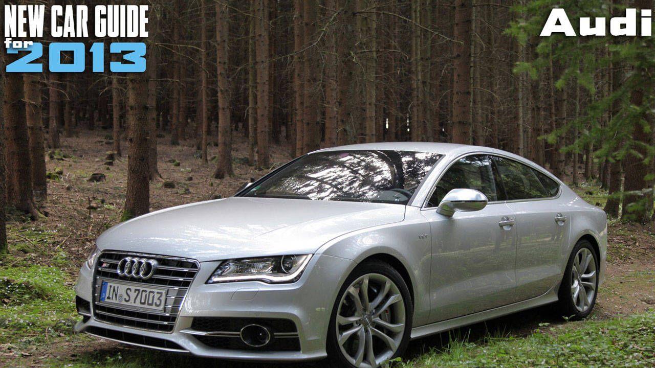 New Audi Models For 2013