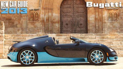 New Bugatti Models for 2013