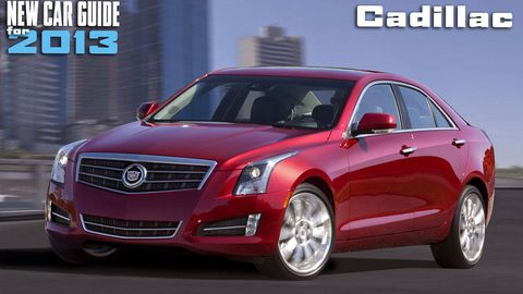 New Cadillac Models for 2013