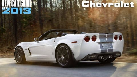 New Chevrolet Models for 2013