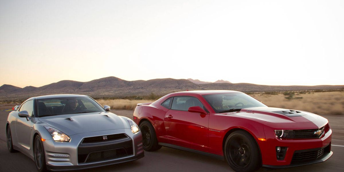Performance Results Of The Chevy Camaro Zl1 Vs Nissan Gt