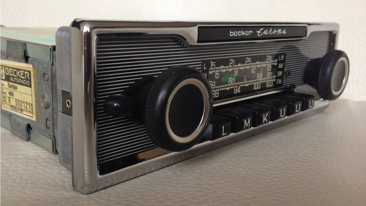 Original Aftermarket Radios for Classic German Cars - The