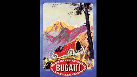 Art Deco French Car Advertisements