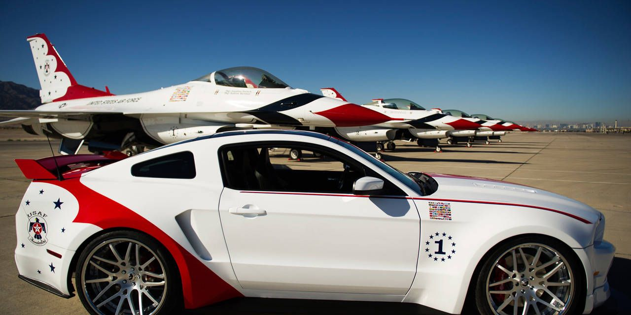 Slideshow: 2014 Ford Mustang USAF Thunderbirds Edition