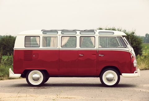 Land vehicle, Vehicle, Car, Motor vehicle, Mode of transport, Van, Volkswagen type 2, Transport, Samba, Minibus,