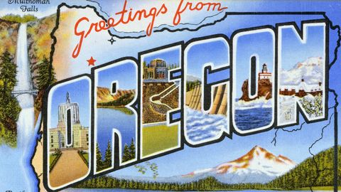Postcard of Greetings from Oregon. Postcard of Greetings from Oregon ...
