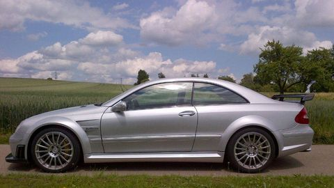 2008 mercedes benz clk63 amg black series 45 years of amg. Black Bedroom Furniture Sets. Home Design Ideas