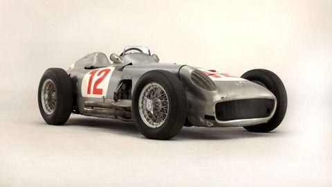Fangio's ex-W196