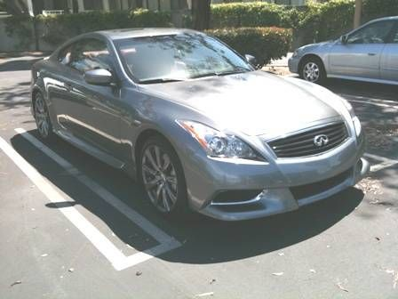 Rolling In Infinitis Special Anniversary Edition G37 Coupe