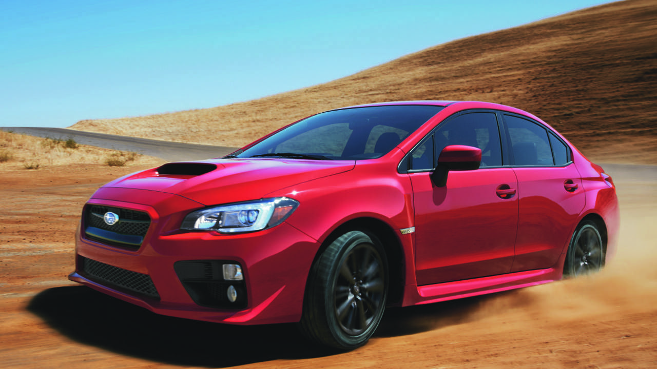 This is the 2015 Subaru WRX