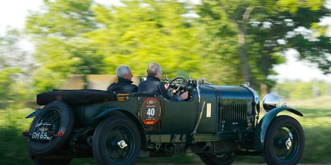 Classic Drives: 1929 & 1930 Blower Bentleys
