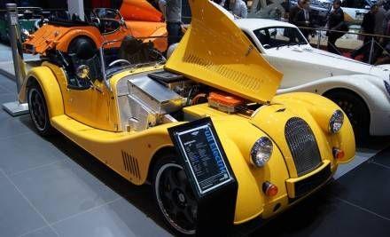 Morgan Plus E 2012 Geneva Auto Show