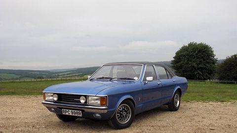 Classic Drive: 1977 Ford Granada Mk. 1