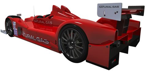 Gas-Powered Race Cars Coming to ALMS