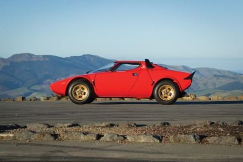 Driving a Lancia Stratos Is an Assault on the Senses