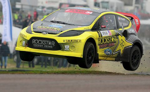 European Rallycross – Rockstar Foust Defeats Monster Doran in UK