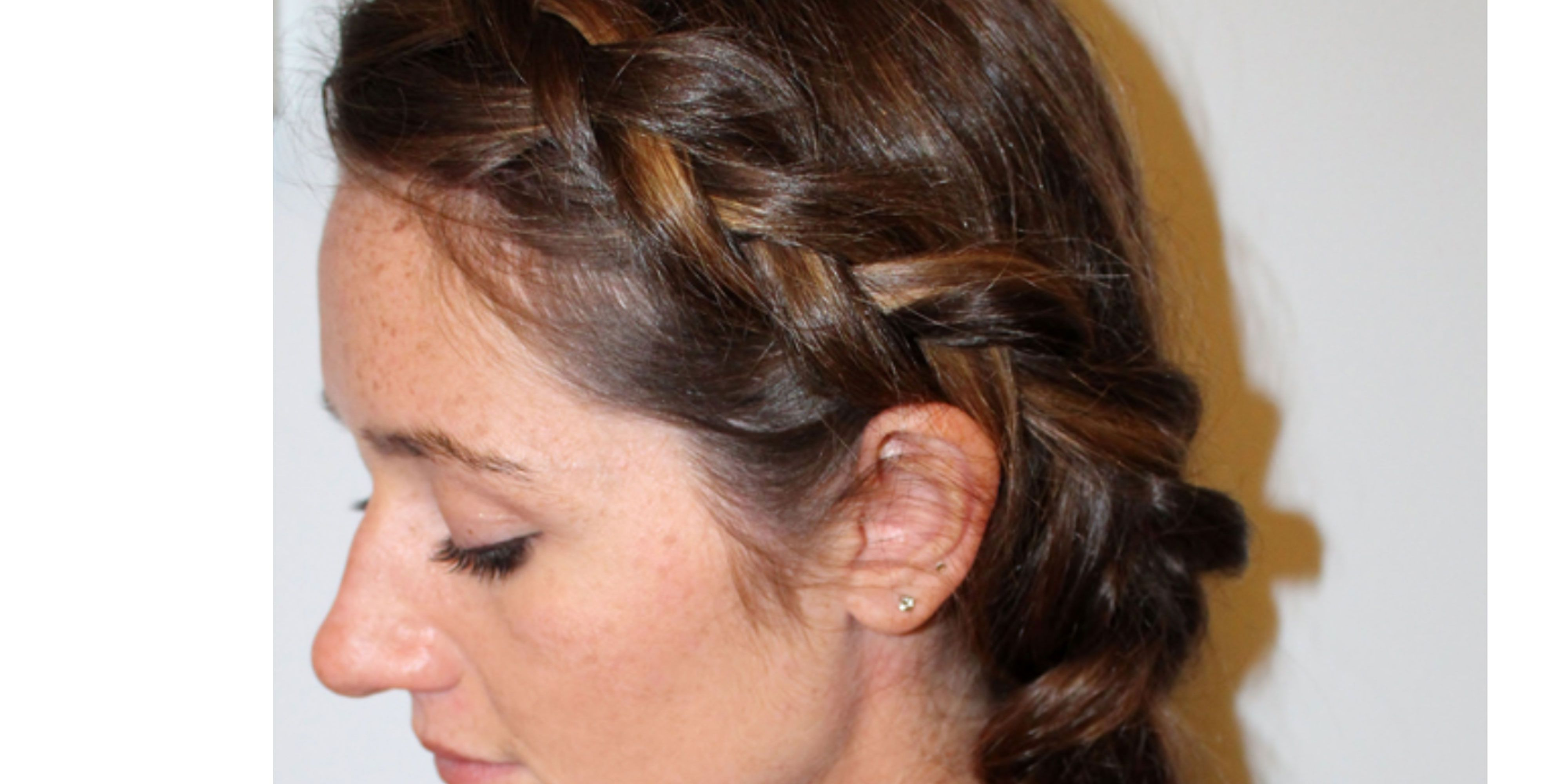 French Side Braid Tutorial How To Do Reverse French Side Braid