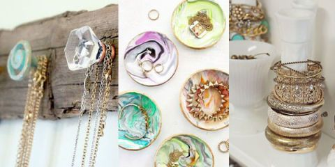 Make It Easy To Find And Safely All Your Jewelry With These Incredibly Creative Diy Organizers