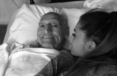 Ariana Grande and Grandpa
