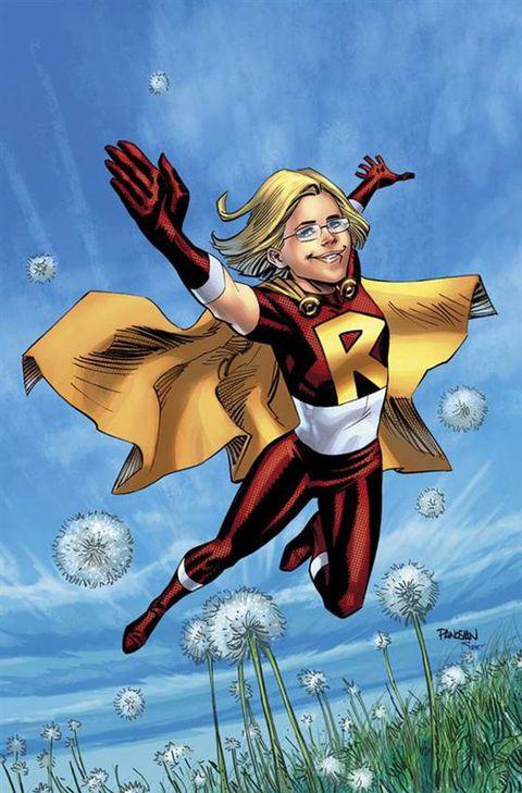 Rowan Hansen Superhero Sketch