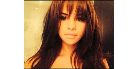Lip, Hairstyle, Chin, Eyebrow, Bangs, Amber, Jaw, Eyelash, Step cutting, Beauty,