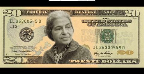 Rosa Parks $20 Bill