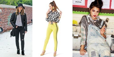 Clothing, Arm, Leg, Green, Yellow, Sleeve, Trousers, Shoulder, Pattern, Collar,