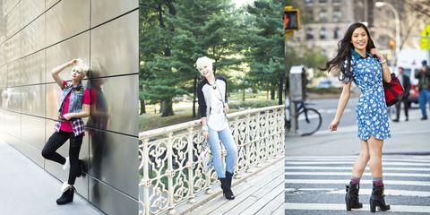 Clothing, Footwear, Leg, Trousers, Human body, Textile, Photograph, Outerwear, Bag, Street fashion,