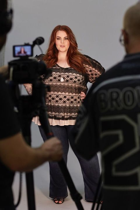 Size 22 model goes Photoshop-free in new ads for plus-size