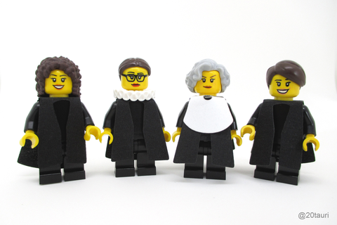 Lego Supreme Court justices