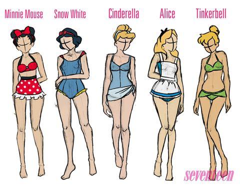 Disney Princess Swimwear