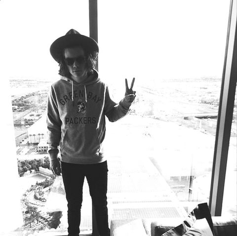 Harry Styles Black And White