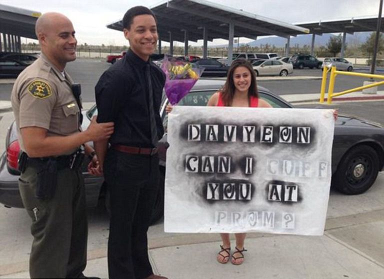 This Girl Had Her Boyfriend Arrested To Ask Him Too Prom — Too